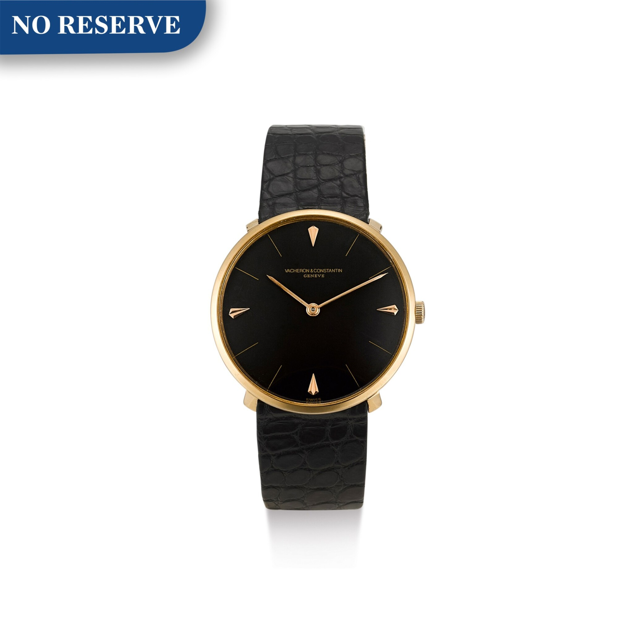 View full screen - View 1 of Lot 614. VACHERON CONSTANTIN   REFERENCE 6317 A YELLOW GOLD WRISTWATCH, CIRCA 1959.