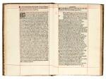 Valerius Flaccus, Argonautica, Venice, 1500, later navy morocco gilt, Sunderland copy