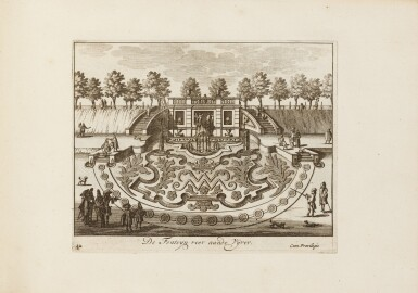 View 3. Thumbnail of Lot 47. Tooneel der Voornaamste... Amsterdam, vers 1695. Relié avec : VALK. Veues et perspectives deSoesdyck..
