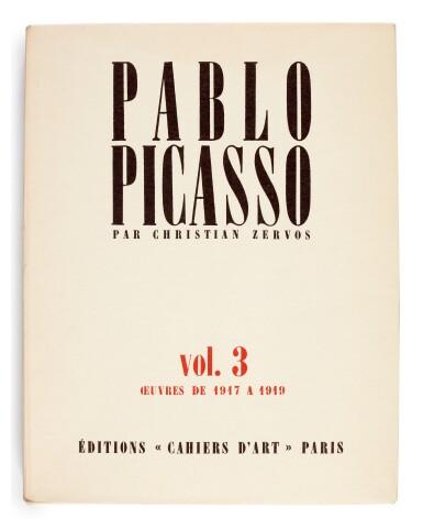 View 3. Thumbnail of Lot 167. Zervos, Pablo Picasso, Oeuvres, Paris, 1949-1986, 34 volumes, original wrappers.