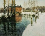 FRITS THAULOW | A CHÂTEAU IN NORMANDY