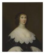 CORNELIUS JOHNSON   PORTRAIT OF LADY ELIZABETH CRAVEN (NÉE FAIRFAX), WIFE OF SIR WILLIAM CRAVEN OF LENCHWICK (1610-1655), HALF LENGTH
