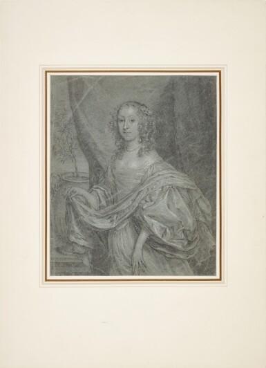 View 2. Thumbnail of Lot 38. Portrait of Juffrouw Louisa de Vries of Dordrecht.