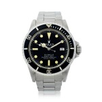 ROLEX | REFERENCE 1665 SEA-DWELLER 'GREAT WHITE'   A STAINLESS STEEL AUTOMATIC WRISTWATCH WITH DATE AND BRACELET, CIRCA 1978