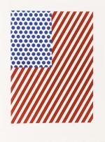 La Nouvelle chute de l'Amérique. 1/80 ex. 10 eaux-fortes et aquatintes signées de Lichtenstein