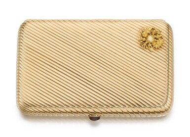 An Imperial Presentation gold cigarette case, Ivan Arkhanov, St Petersburg, 1899-1903