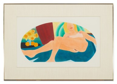 View 3. Thumbnail of Lot 550. TOM WESSELMANN | FROM GREAT AMERICAN NUDE #100 .