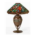 "TIFFANY STUDIOS | ""FISH AND WATER"" TABLE LAMP"