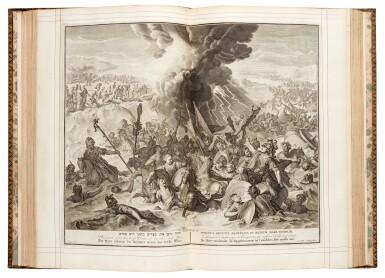 View 3. Thumbnail of Lot 69. Bible, London, 1751, 4 volumes, navy morocco gilt, Newcastle copy.