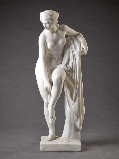 HOLME CARDWELL, AFTER THE ANTIQUE | VENUS REMOVING HER SANDAL
