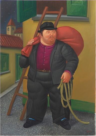View 1. Thumbnail of Lot 571. Fernando Botero 費南度・波特羅 | Untitled 無題.