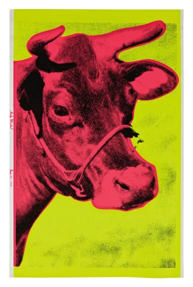 ANDY WARHOL   COW (SEE FELDMAN & SCHELLMANN II.11)