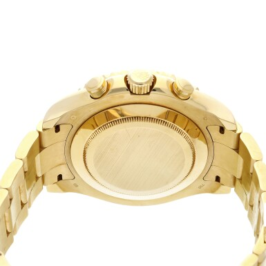 View 5. Thumbnail of Lot 8. Reference 116688 Yacht-Master II A yellow gold automatic regatta chronograph wristwatch with bracelet, Circa 2008 .