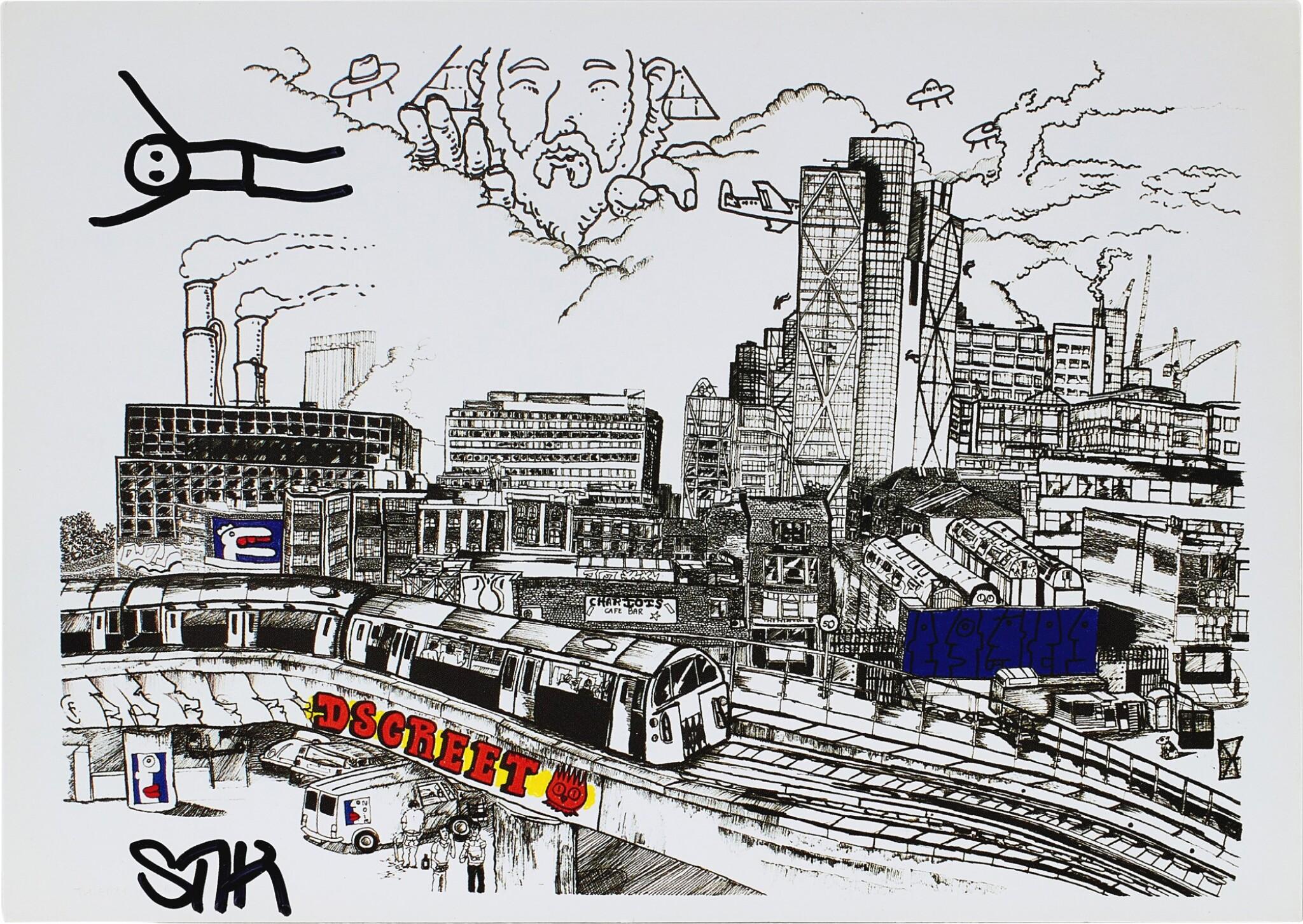 View full screen - View 1 of Lot 54. George The Dog, John The Artist   犬名佐治,藝術家約翰.