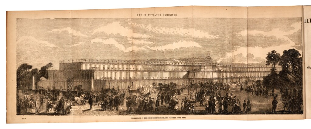 GREAT EXHIBITION OF 1851 | A COLLECTION OF 8 VOLUMES ABOUT THE EXHIBITION, COMPRISING: