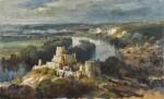 The Seine from Chateau Gaillard