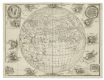 DÜRER, ALBRECHT, AND JOHANN STABIUS | [Map of the World as a Sphere].[Vienna,] 1781 (fromwoodblocks cut in 1515)