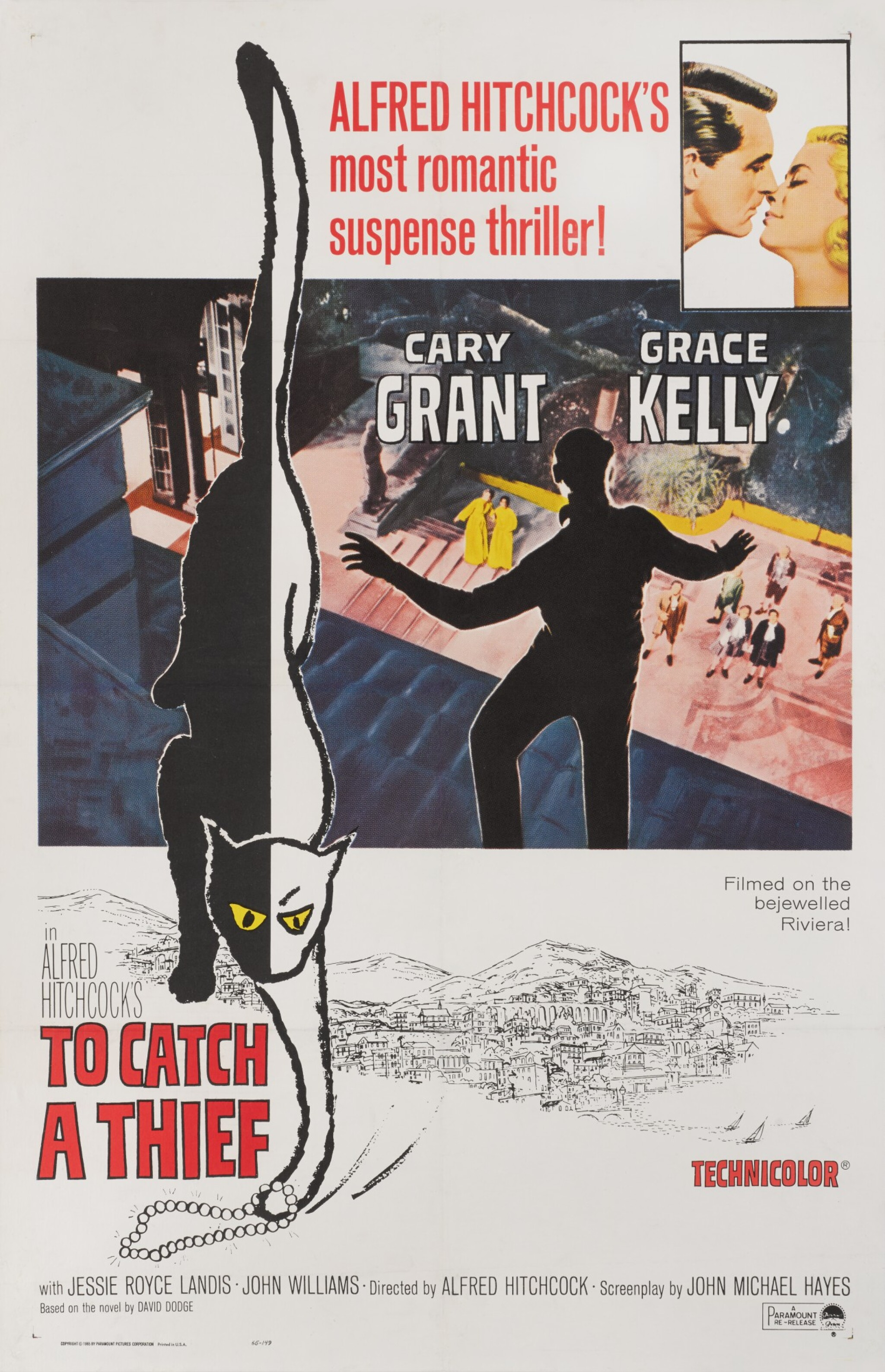 View full screen - View 1 of Lot 70. TO CATCH A THIEF (1955) POSTER, US.