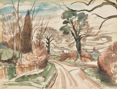 JOHN NASH, R.A. | LANE NEAR WORMINGFORD