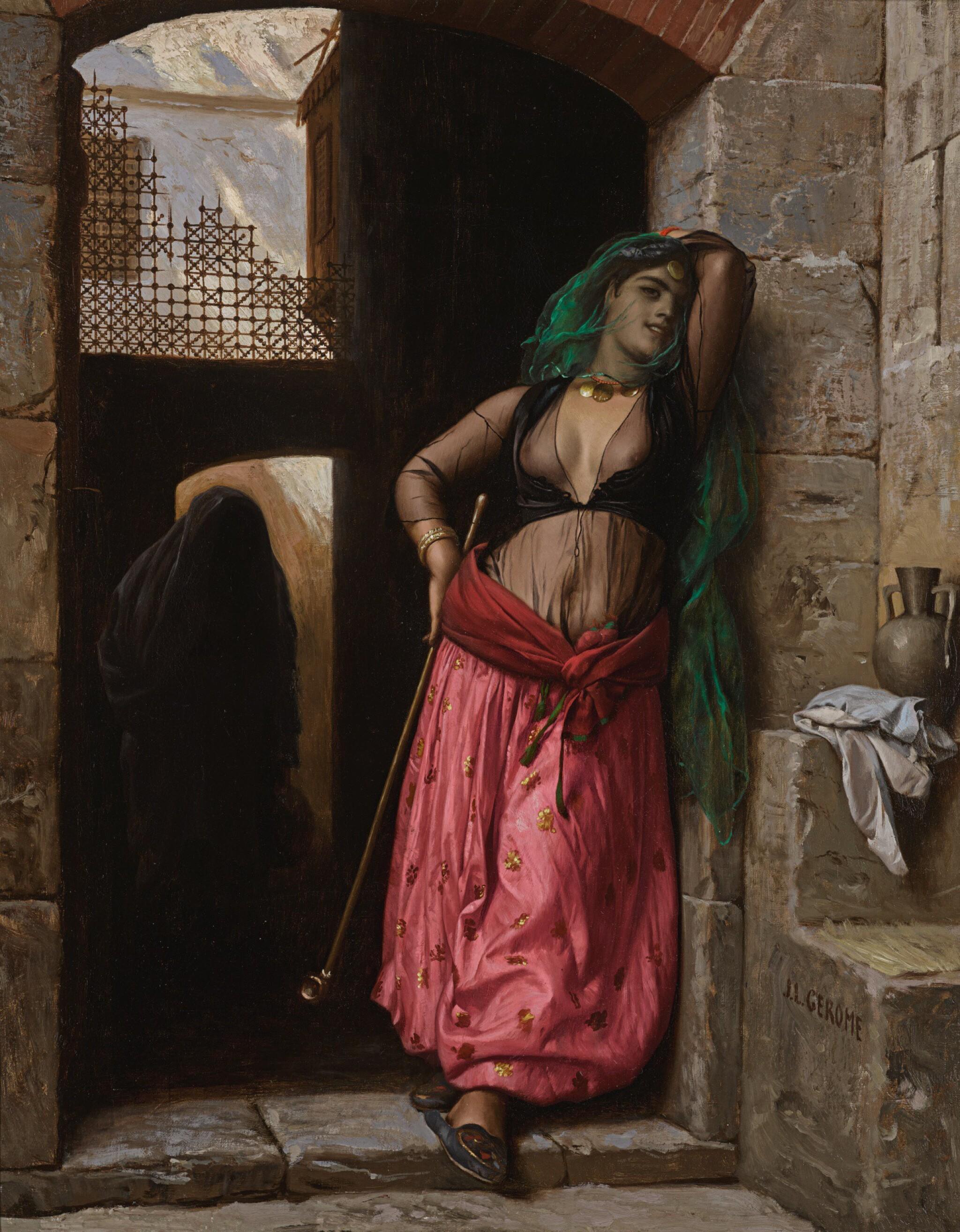 JEAN-LÉON GÉRÔME | Jeune fille du Caire