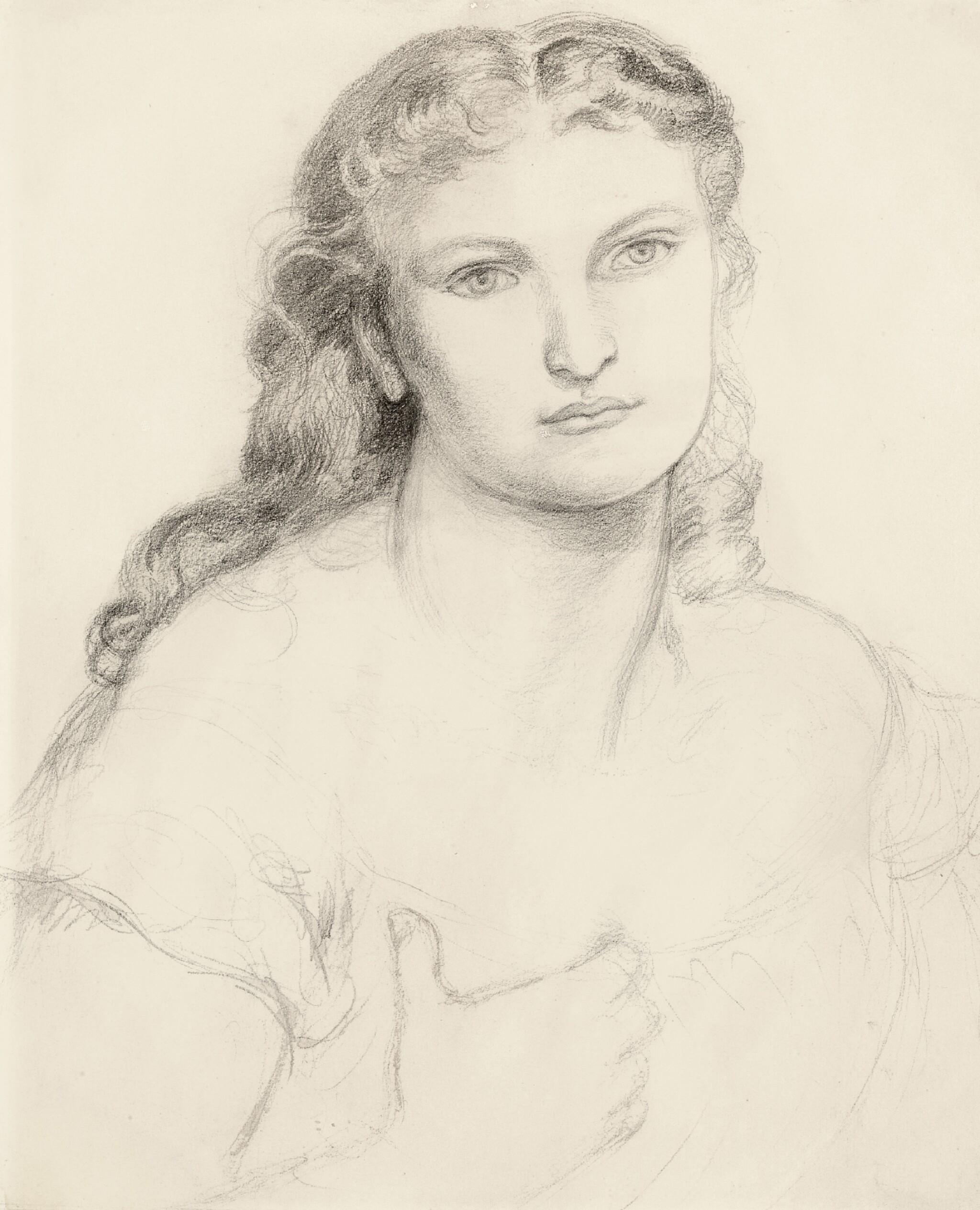 DANTE GABRIEL ROSSETTI | Sketch for Venus Verticordia