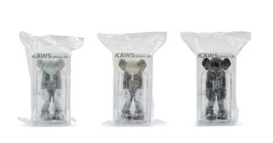 KAWS | 小謊言(一組三件)Small Lie (set of three)