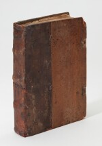 Bonifacius VIII, Liber sextus decretalium, Venice, 1485, contemporary half calf over wooden boards