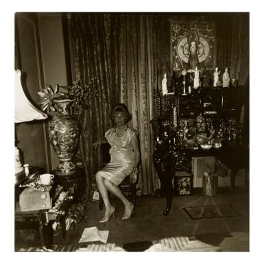 DIANE ARBUS | 'WIDOW IN HER BEDROOM, 55TH STREET, N .Y. C.'