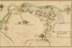 ESPAGNAC. Mémoires [...] de la dernière guerre d'Italie, Amsterdam, 1739. In-12, maroquin aux armes Fleury