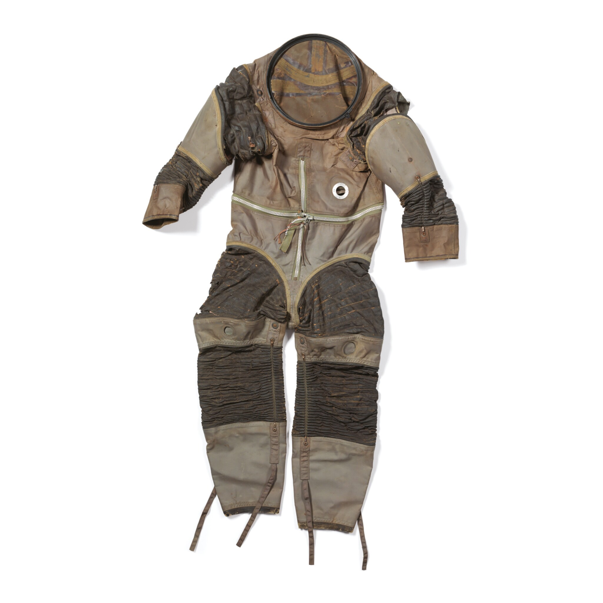 View full screen - View 1 of Lot 10. APOLLO PROTOTYPE SPD-117 SPACESUIT, INTERNATIONAL LATEX CORPORATION, CA 1962.