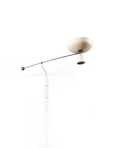 View 2. Thumbnail of Lot 8. G1 wall light, designed in 1951.