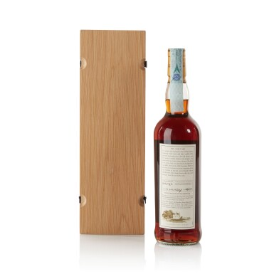 View 2. Thumbnail of Lot 27. The Macallan Fine & Rare 36 Year Old 56.3 abv 1965 .