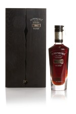 BOWMORE BLACK, THE LAST CASK 50 YEAR OLD, 41.0 ABV 1964