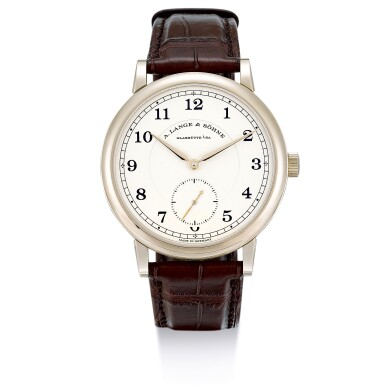 A. LANGE & SÖHNE   1815 ANNIVERSARY F.A. LANGE, REFERENCE 236.050, A LIMITED EDITION HONEY GOLD WRISTWATCH, MADE TO COMMEMORATE THE 200TH ANNIVERSARY OF THE BIRTH OF THE FOUNDER F.A. LANGE, CIRCA 2015