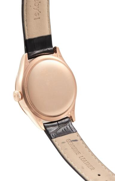 View 3. Thumbnail of Lot 8059. ROLEX | CELLINI DUAL TIME, REFERENCE 50525,  A PINK GOLD DUAL TIME ZONE WRISTWATCH WITH DAY AND NIGHT INDICATION, CIRCA 2014.