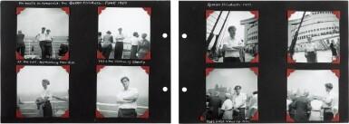 "View 3. Thumbnail of Lot 49. Sylvia Plath | Family photograph album (""The Hughes family Album""), 1957-1962."