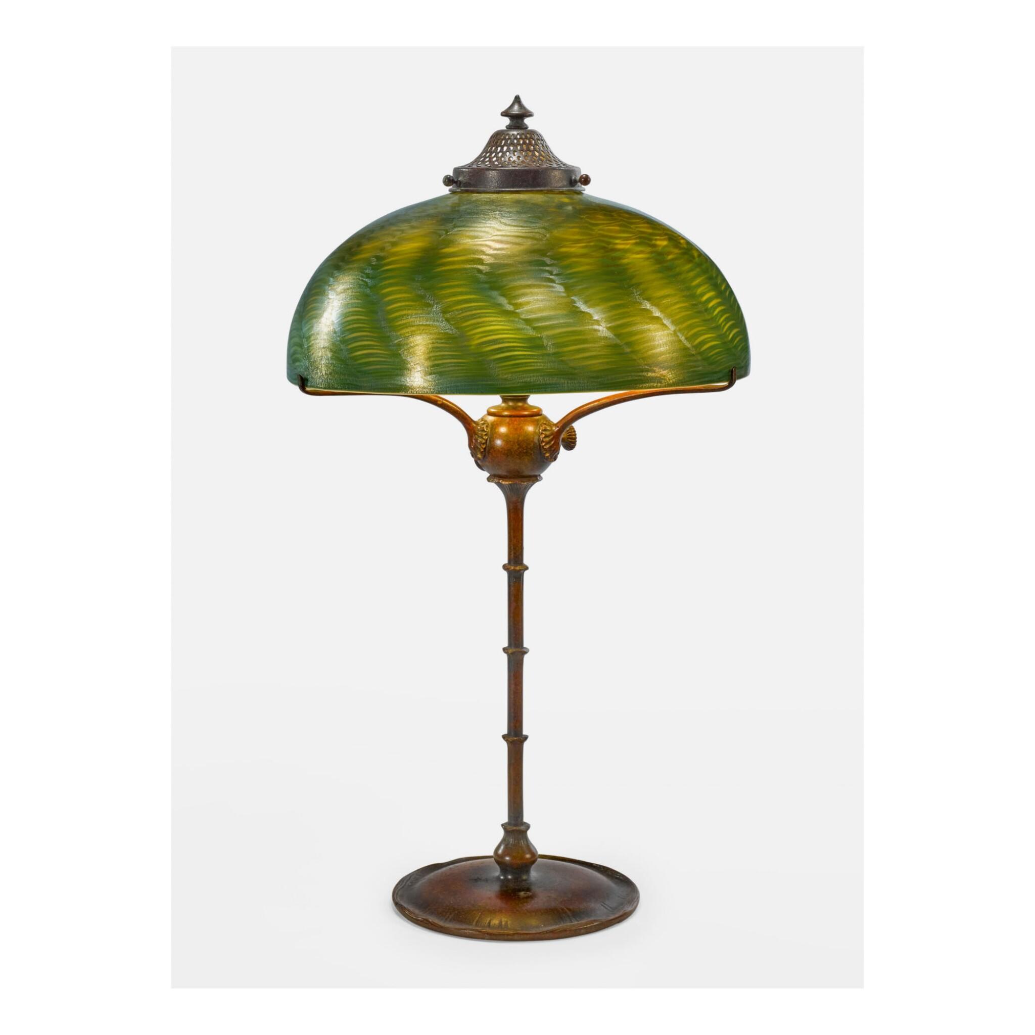 View 1 of Lot 2. TIFFANY STUDIOS | TABLE LAMP.