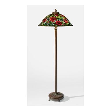 "TIFFANY STUDIOS | ""ROSE BUSH"" FLOOR LAMP"