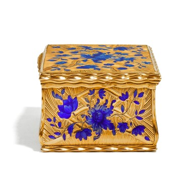 View 4. Thumbnail of Lot 14. A gold and enamel snuff box, Anders Liedberg, Stockholm, circa 1763.