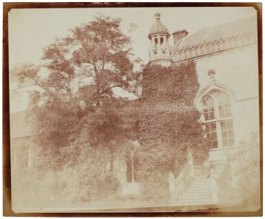 View 21. Thumbnail of Lot 11. William Henry Fox Talbot's Gifts to his Sister: Horatia Gaisford's Collection of Photographs and Ephemera.