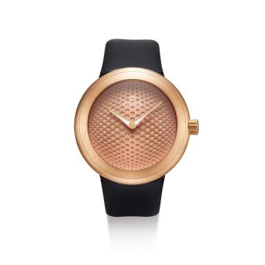 View 1. Thumbnail of Lot 8034. IKEPOD | HORIZON, REFERENCE HHR70 | A PINK GOLD WRISTWATCH, DESIGNED BY MARC NEWSON, CIRCA 2013  | Horizon 型號HHR70 粉紅金腕錶,由Marc Newson設計,約2013年製.