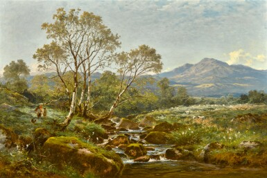 BENJAMIN WILLIAMS LEADER, R.A. | The Stream from the Hills