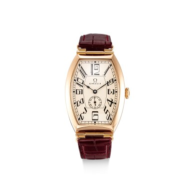 View 1. Thumbnail of Lot 8105. OMEGA | THE MUSEUM COLLECTION, REFERENCE 5703.30.01 | A LIMITED EDITION PINK GOLD WRISTWATCH, CIRCA 2004 | 歐米茄 |博物館系列 型號5703.30.01   限量版粉紅金腕錶,約2004年製.