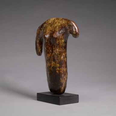 View 2. Thumbnail of Lot 739. WILLIAM TURNBULL | HOOK TORSO.