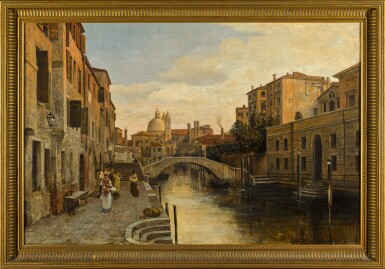 View 2. Thumbnail of Lot 74. Rio del Ognissanti, Venice.