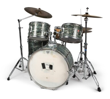 """View 2. Thumbnail of Lot 84. [QUESTLOVE] 60'S ERA 5-PIECE DRUM KIT AS USED LIVE AND IN STUDIO BY AHMIR """"QUESTLOVE"""" THOMPSON."""
