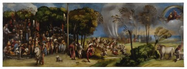 View 3. Thumbnail of Lot 116. The Plague at Pergamea; The Sicilian Games          .
