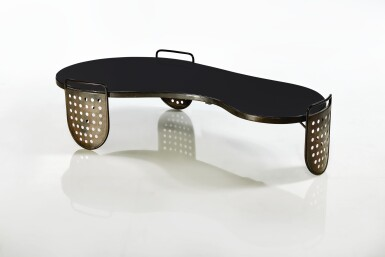 "View 2. Thumbnail of Lot 401. A Rare ""Flaque"" Coffee Table."