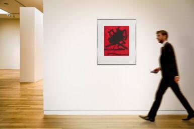View 3. Thumbnail of Lot 80. ROBERT MOTHERWELL   RED SEA II (WALKER ART CENTER 242).