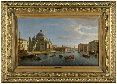 View 2. Thumbnail of Lot 29. Venice, Santa Maria della Salute and the entrance to the Grand Canal |《威尼斯安康聖母聖殿與大運河入口》.
